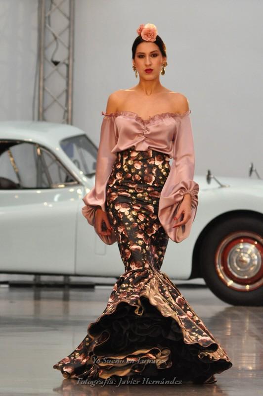 desfile traje flamenca fimaf